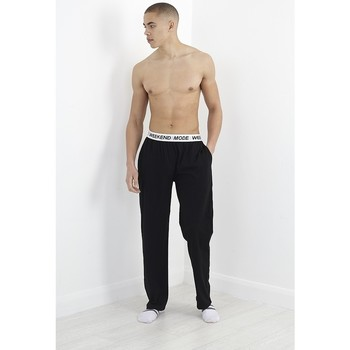 Kleidung Herren Pyjamas/ Nachthemden Brave Soul  Schwarz