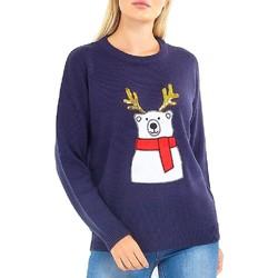 Kleidung Damen Sweatshirts Brave Soul  Marineblau