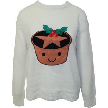 Kleidung Damen Sweatshirts Brave Soul  Creme
