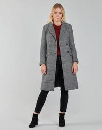 Kleidung Damen Mäntel Betty London PIXIE Schwarz / Grau