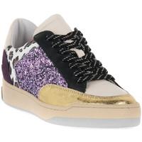 Schuhe Damen Sneaker Low At Go GO 4175 DUCK ORO Beige