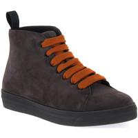 Schuhe Damen Boots Frau CACHEMIRE LAVAGNA Blu