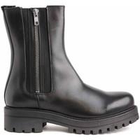 Schuhe Damen Low Boots Colour Feet 21544 Schwarz