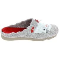 Schuhe Damen Hausschuhe Boissy JH65458 Gris Grau