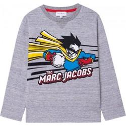 Kleidung Jungen Langarmshirts Marc Jacobs 92952110 Grau