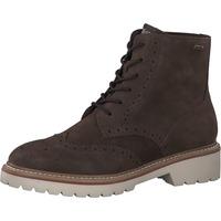 Schuhe Damen Boots S.Oliver Stiefelette Dunkelbraun