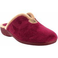 Schuhe Damen Hausschuhe Berevere Go home lady  in 975 Bordeaux Rot