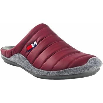 Schuhe Herren Hausschuhe Berevere Gehen Sie nach Hause, Gentleman  in 9671 Bordeaux Rot