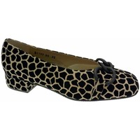Schuhe Damen Ballerinas Calzaturificio Loren LOA1120 nero