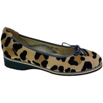 Schuhe Damen Ballerinas Calzaturificio Loren LOA1111 nero