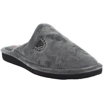 Schuhe Herren Hausschuhe Berevere Go home Gentleman  in 502 grau Grau
