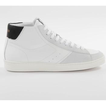 Schuhe Herren Sneaker High Schmoove Graf mid cut Weiss