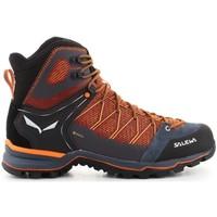 Schuhe Herren Wanderschuhe Salewa MS Mtn Trainer Lite Mid Gtx Orangefarbig, Türkisfarbig