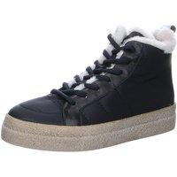 Schuhe Damen Stiefel Donna Carolina Stiefeletten 46168062P 46168062P schwarz