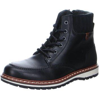 Schuhe Herren Stiefel Bullboxer Laceup Black 877K84988VARBCSU 10 schwarz