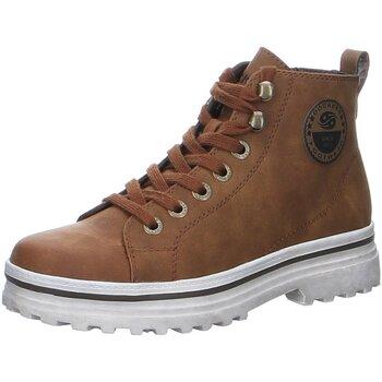 Schuhe Damen Stiefel Dockers by Gerli Stiefeletten 49VR302 Dockers 49VR302 braun