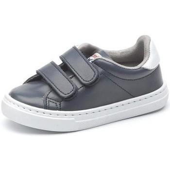 Schuhe Mädchen Sneaker Low Cienta Chaussures fille  Deportivo Scractch Piel bleu marine