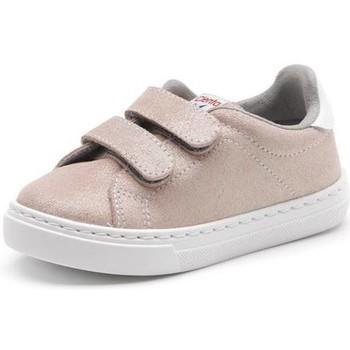 Schuhe Mädchen Sneaker Cienta Chaussures fille  Deportivo Scractch Glitter rose