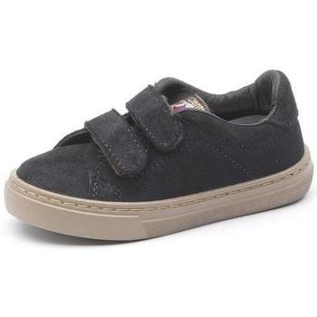 Schuhe Mädchen Sneaker Cienta Baskets  Deportivo Velcro On Suede noir