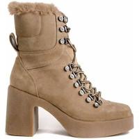 Schuhe Damen Low Boots Alma En Pena 422 Beige