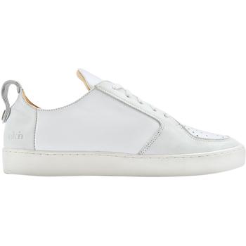 Schuhe Herren Sneaker Low Ekn Argan Low Weiss