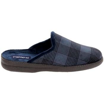 Schuhe Hausschuhe Boissy JH25624 Marine Blau