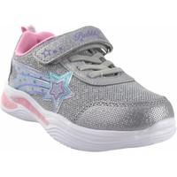 Schuhe Mädchen Multisportschuhe Bubble Bobble Sport Mädchen  a3429 silber Grau