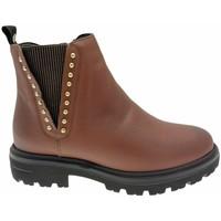 Schuhe Damen Ankle Boots Calzaturificio Loren LOC3955ma marrone