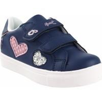 Schuhe Mädchen Multisportschuhe Bubble Bobble Mädchenschuh  a3412 blau Blau