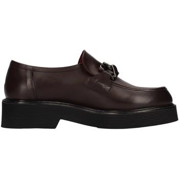 Schuhe Damen Slipper Triver Flight 482-07 BRAUN