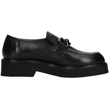 Schuhe Damen Slipper Triver Flight 482-07 SCHWARZ