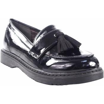 Schuhe Mädchen Derby-Schuhe Bubble Bobble Mädchenschuh  a2622 schwarz Schwarz