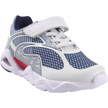 Schuhe Jungen Multisportschuhe Bubble Bobble BOBBLE a3410 weiß Weiss
