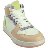 Schuhe Mädchen Sneaker High Bubble Bobble Sport Mädchen  a3510 verschiedene Rose