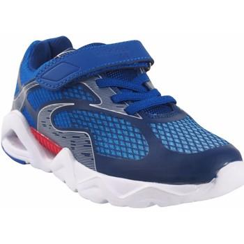 Schuhe Jungen Sneaker Low Bubble Bobble BOBBLE a3410 blau Blau