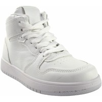 Schuhe Mädchen Sneaker High Bubble Bobble BOBBLE a3510 weiß Weiss