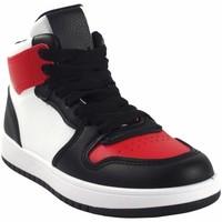 Schuhe Jungen Sneaker High Bubble Bobble BOBBLE a3510 bl.rot Rot