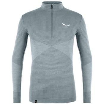 Kleidung Herren Sweatshirts Salewa Med Warm Amr Grau