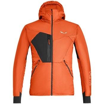 Kleidung Herren Jacken Salewa Pedroc Hybrid Twr M Hood Jkt Orangefarbig