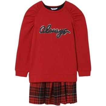Kleidung Mädchen Kleider Mayoral  Rojo