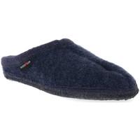 Schuhe Damen Hausschuhe Haflinger ALASKAJEANS WALKSTOFF CALZ G Blu