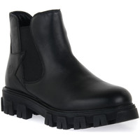 Schuhe Jungen Boots Lumberjack 001 ANKLE BOOT LACE Nero