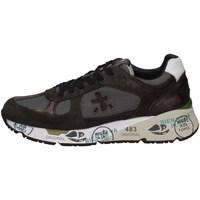 Schuhe Herren Sneaker Low Premiata MAS4005B MILITÄRGRÜN