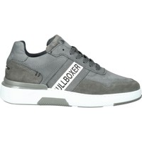 Schuhe Herren Sneaker Low Bullboxer Sneaker Grau/Weiß