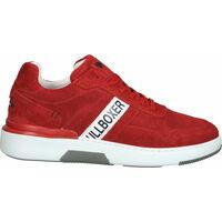 Schuhe Herren Sneaker Low Bullboxer Sneaker Rot/Weiß