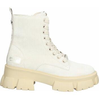 Schuhe Damen Boots Steve Madden Stiefelette Beige