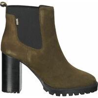 Schuhe Damen Ankle Boots Steven New York Stiefelette Khaki