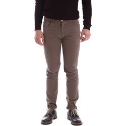 Kleidung Herren Hosen Sei3sei 02396 Braun