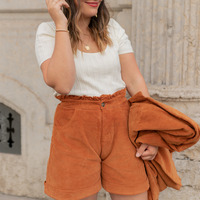 Kleidung Damen Shorts / Bermudas Céleste CHENE Braun
