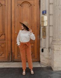 Kleidung Damen 5-Pocket-Hosen Céleste MARRONNIER Camel